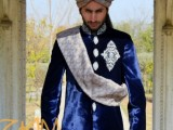 Pakistani Designer Groom Sherwani Designs 2013 0012