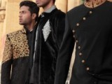 Pakistani Designer Groom Sherwani Designs 2013 002