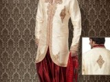 Pakistani Designer Groom Sherwani Designs 2013 003