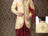 Pakistani Designer Groom Sherwani Designs 2013 009