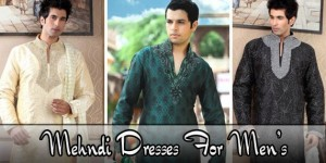 Pakistani Mehndi Dresses For Men