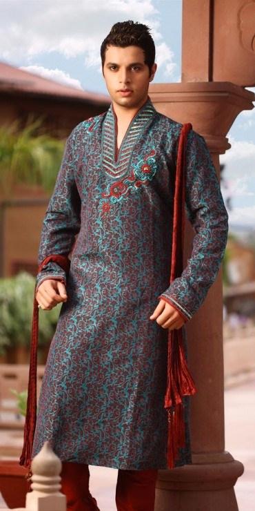 Pakistani Mehndi Dresses For Men