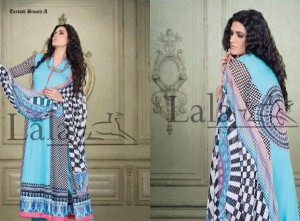Sana & Samia Spring Summer Lawn Collection 2013 by Lala Textiles