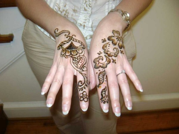 Simple Arabic Mehndi Designs 001