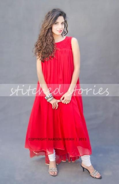 Stitched Stories Valentine's Day Collection 2013 for Girls 005