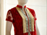 Valentine's Day Red Dresses Collection 2013 In Pakistan 001
