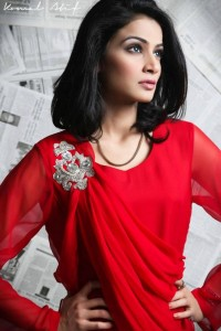 Valentine's Day Red Dresses Collection 2013 In Pakistan