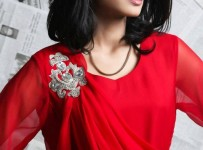Valentine's Day Red Dresses Collection 2013 In Pakistan 007