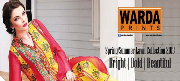 Warda Spring Summer Lawn Collection 2013 002