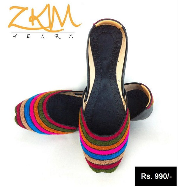 Zari Khussa Mehal Khussa Collection 2013 For Girls 008