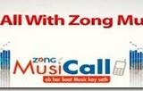 Zong Music Call Offer Details