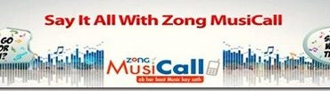 Zong Music Call Offer Details