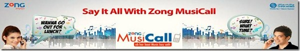 Zong Music Call Offers Details 001