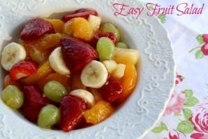 Easy Fruit Salad Recipe For Kids