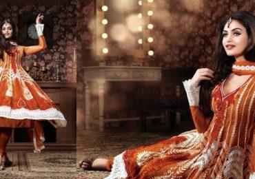 Anarkali Designer Bridal Dress Collection 2015