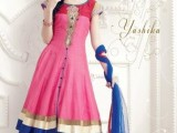 anarkali umbrella frocks