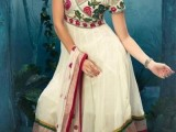 pakistani long frocks pictures