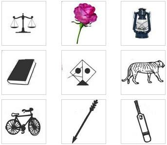 PTI bat , PML-Q bicycle,PML-N tiger get as election symbols 001
