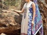 Nadia Hussain Lawn Summer Collection for women 2014 by Shariq Textiles