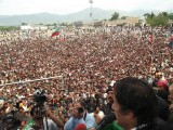 PTI Baluchistan jalsa live 1 May 2013 pictures, Imran khan speech