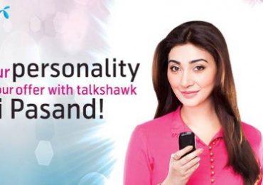 Telenor Talkshawk Meri Pasand Offer Details