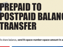Warid introduce Prepaid to Postpaid Balance Transfer offer