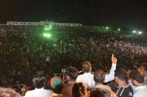 PTI Charsadda, Mansehra, Mardan, Swabi jalsa live May 4, 2013, pictures