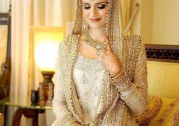 Pakistani designer bridal dresses 2013