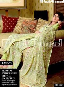Gul Ahmed dresses for eid