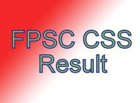 CSS exams written result 2013 announced