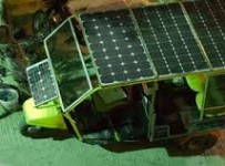 Solar auto rickshaw price in Pakistan 2013