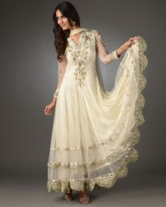 Simple Eid Dresses 2014