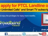 PTCL Ramadan Offer Unlimited Calls & Free Smart TV Subscription