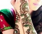 Pakistani Dulhan Mehndi Designs 2014