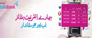 Latest Telenor Talkshawk Internet Bundles offer