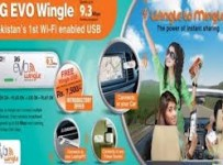 Price, Specs and Features of PTCL 3G EVO Wingle 9.3 MBPs