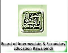 BISE Rawalpindi Board Inter Part 1 Result 2014