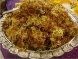 Hyderabadi Biryani by Chef Zubaida Tariq