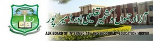 Bise ajk Mirpur Board HSSC Part 1, 11th Class Result 2013