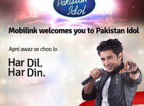 Join Pakistan Idol through Mobilink Mobile Audition