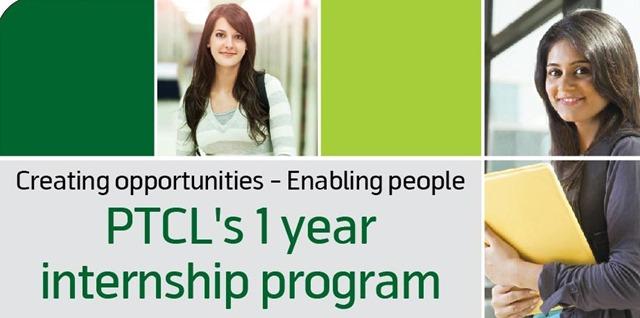 Apply PTCL One Year Internship Program 2013 Salary (Stipend) Package, Registration Online