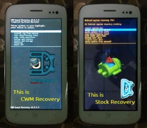 CWM ClockworkMod Recovery for Q mobile Phones