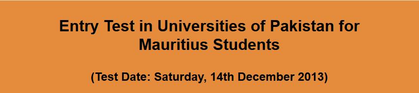 Mauritius Students Registration