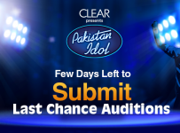 Clear Present Pakistan Idol Missed Last Chance Auditions Submit Video