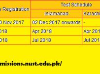 entire schedule