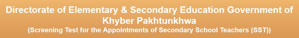 Secondary School Teachers (SST) Jobs