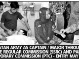 Join Pakistan Army as Captain