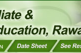 Supplementary Result 2014 of Bise Rawalpindi Board Intermediate Part 1, 2