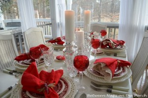 Homemade Valentine's Day Centerpiece Ideas