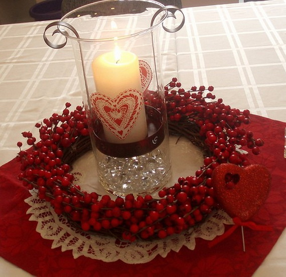 Easy homemade valentine s day centerpiece ideas